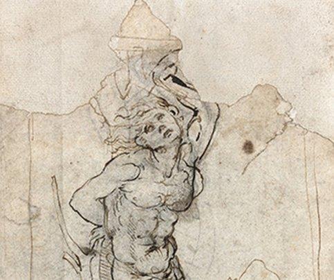 Франция признала рисунок Леонардо да Винчи национальным достоянием