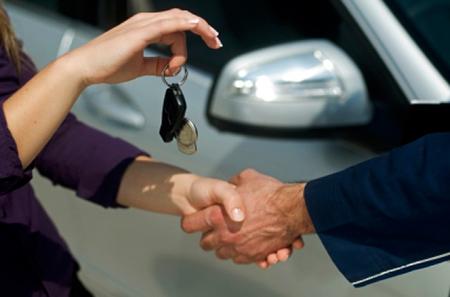 Услуги по аренде автомобиля