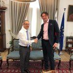 Директор Cofrance Sarl встретился с министром энергетики Мальты